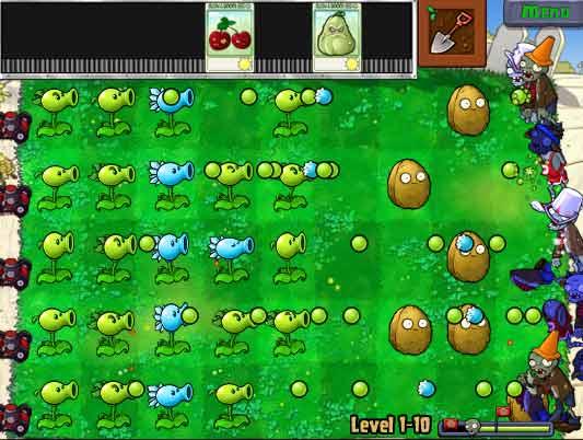 plant vs zombie online games