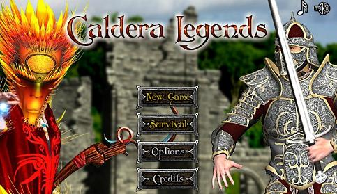 Caldera Legends tower game