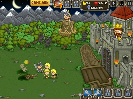 Knights-vs-Zombies-defence-game