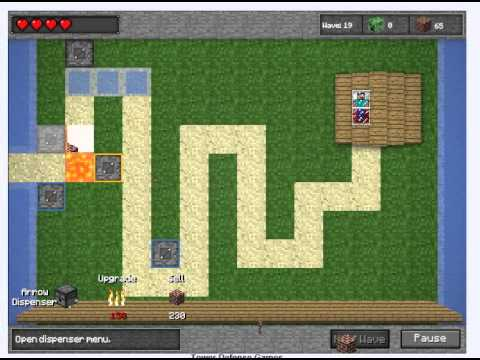 tower defense minecraft