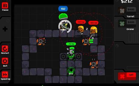 heroes-defend game