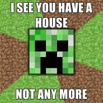 minecraft house no more