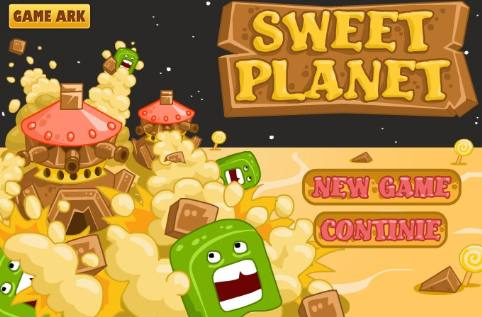 sweet planet defense game