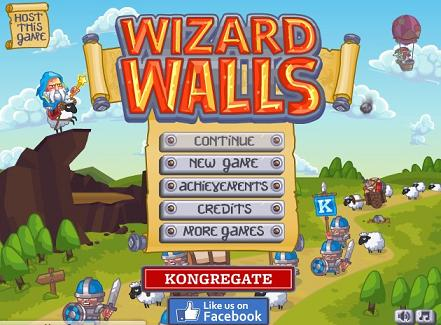 wizard-walls defense game